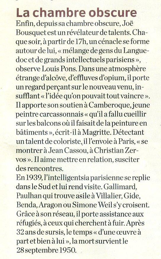 J Bousquet soutien à Camberoque
